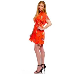 Size S Obey Coral Dress